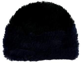 Rebecca Minkoff Fur Knit Beanie
