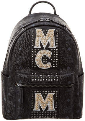 MCM Stark Logo Visetos Backpack