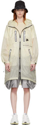Fly London and Wander White Hooded Coat