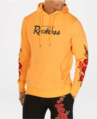 Young & Reckless Men's Embroidered Floral Hoodie