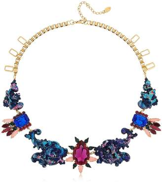 Swarovski Colored Necklace W Crystals