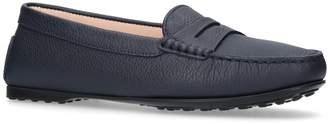 Tod's Leather Gommini Driving Shoes