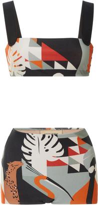 Adriana Degreas Tropiques Hot Pants Bikini set