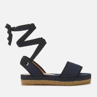 Castaner Women's Worquidea Flat Espadrille Sandals - Azul Marino