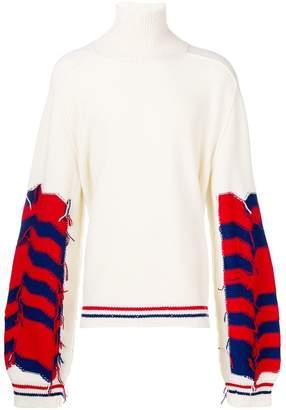 Riccardo Comi loose flared sweater
