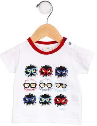 Fendi Boys' Graphic Monster T-Shirt