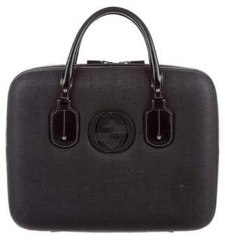 Gucci Interlocking GG Laptop Bag