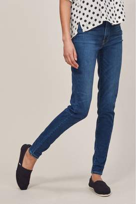 Levi's Womens Mile High Super Skinny Jean - Blue