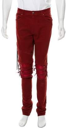 Amiri Distressed Skinny Jeans w/ Tags