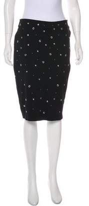 Carmen Marc Valvo Knee-Length Pencil Skirt