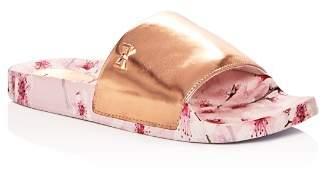 Ted Baker Women's Aveline Leather Slide Sandals
