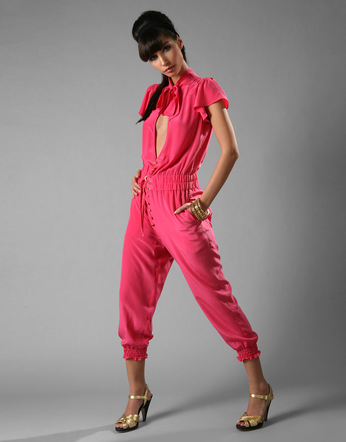 Laundry Industry Silk All-In-One Trouser Jumpsuit
