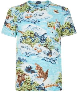 Polo Ralph Lauren Eagle Printed T-Shirt