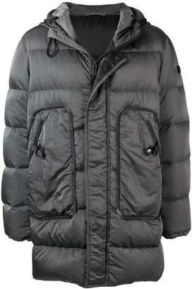 Peuterey midi padded coat