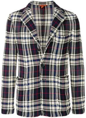 Barena plaid tailored jacket