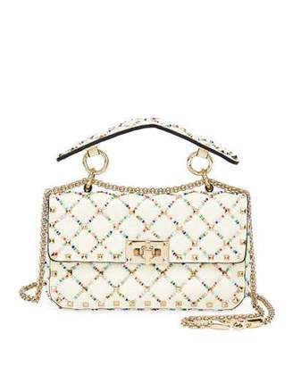 c26be1014a62 Valentino Spike.It Small Quilted Leather Shoulder Bag