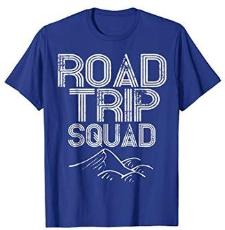 Road Trip Squad Shirt Cool Camp and Travel Gift TShirt