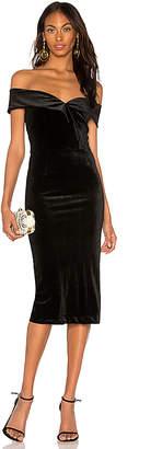 Yumi Kim Cat Walk Velvet Dress