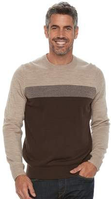 Croft & Barrow Big & Tall Classic-Fit Crewneck Sweater
