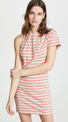 Alexander Wang Thin Stripe High Twist Dress
