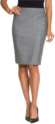 Le Château Women's Glencheck Pencil Skirt
