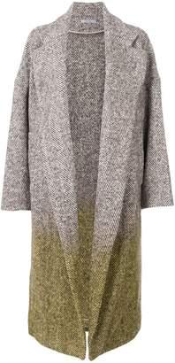 Dusan oversized tie dye coat
