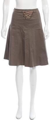 Barbara Bui Knee-Length A-Line Skirt