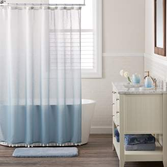 Lauren Conrad Dip Dye Shower Curtain