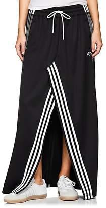 adidas by Alexander Wang Women's Slit-Front Jersey Maxi Skirt