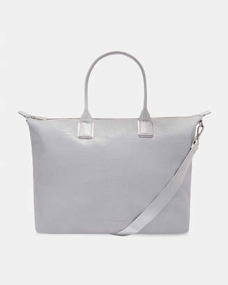315ffedb8387 Ted Baker CRESSIE Reflective large nylon tote bag