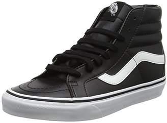 976fd8dc1ddce5 Vans Adults  Sk8-Hi Reissue Leather Trainers Classic Tumble Black True White