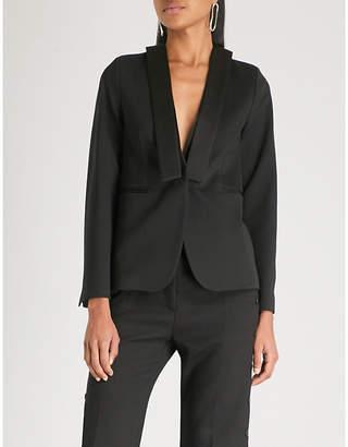 MM6 MAISON MARGIELA Shawl-collar crepe jacket