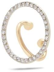 CHARLOTTE CHESNAIS FINE JEWELLERY Celeste diamond & gold single ear cuff