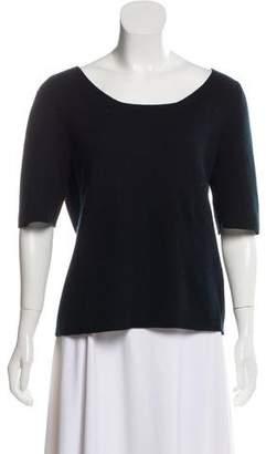 Malo Cashmere Short Sleeve Sweater