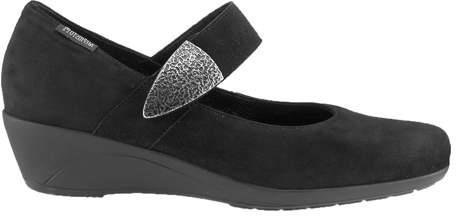 Mephisto Women's Kimona - Black Velcalf Premium Casual Shoes