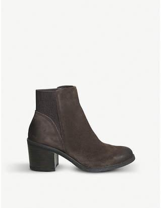 Office Aldgate nubuck Chelsea boots