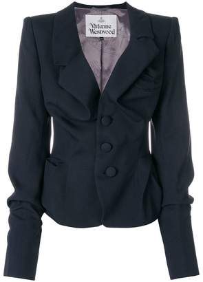Vivienne Westwood fitted asymmetric jacket