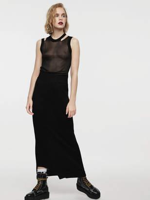 Diesel Dresses 0IASC - Black - L