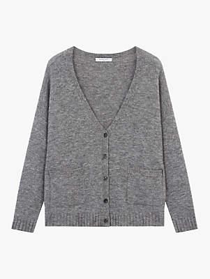 Pullover Christie V-Neck Cardigan, Grey