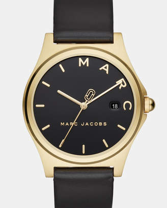 Marc Jacobs Henry Black Analogue Watch