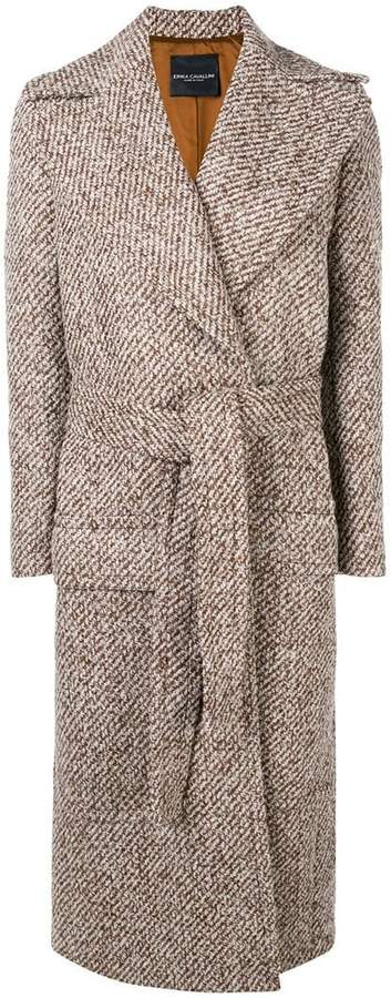 Erika belted coat