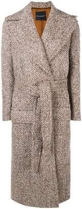 Cavallini Erika belted coat