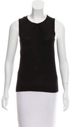 Valentino Wool Sleeveless Top
