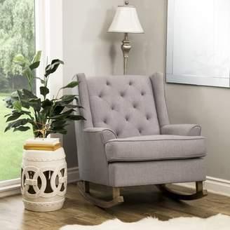 Gracie Oaks Baxendale Rocking Chair