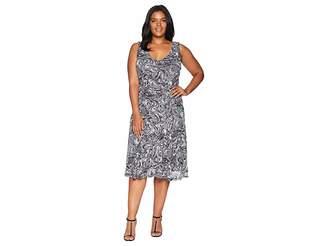 MICHAEL Michael Kors Size Watermark Tank Flare Dress