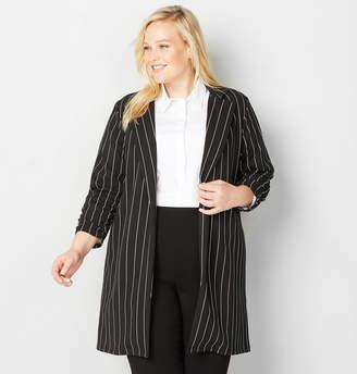 Avenue Stripe Open Jacket