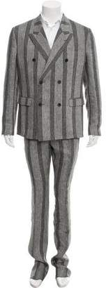 Jeffrey Rüdes Double-Breasted Linen Suit w/ Tags