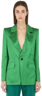 Vivienne Westwood Lou Lou Linen Blend Satin Jacket