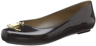 Vivienne Westwood + Melissa Women's VW Space Love 20 Closed Toe Ballet Flats, (Black Orb 6110), 41/42 EU