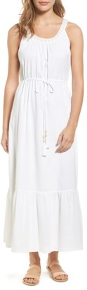 Women's Tommy Bahama Cotton Voile Maxi Dress $118 thestylecure.com